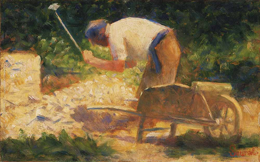 Georges Seurat Taş Kırıcı