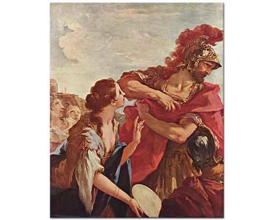 Giovanni Antonio Pellegrini Jephthah'ın Dönüşü