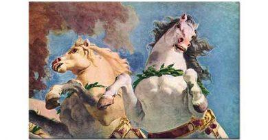 Giovanni Battista Tiepolo Apollon'un Güneş Atları