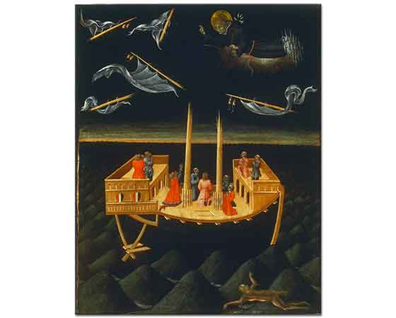 Giovanni di Paolo Aziz Nicholas'ın Kazazedelere Yardımı