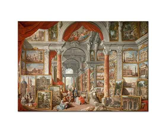 Giovanni Paolo Pannini Modern Romada Resim Galerisi