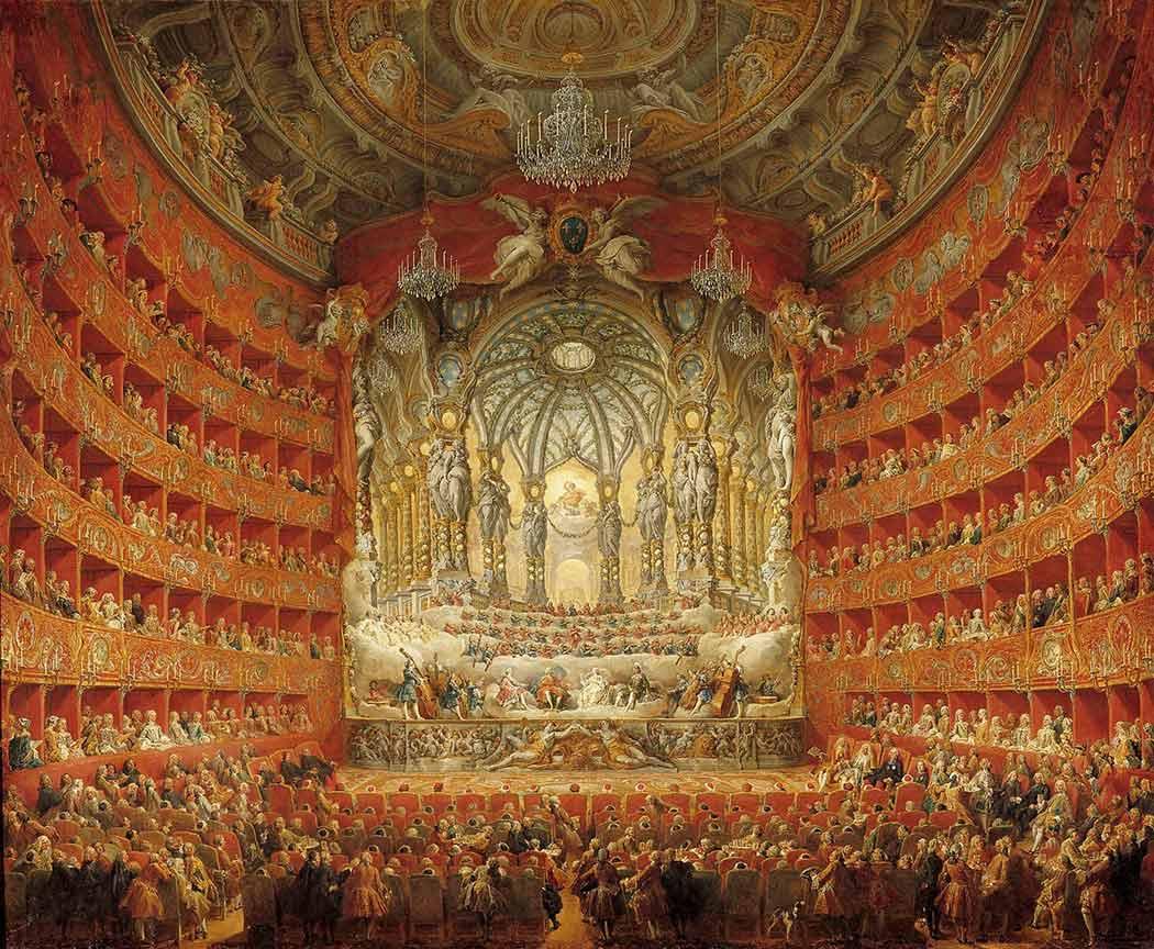 Giovanni Paolo Pannini Müzik Tapınağı