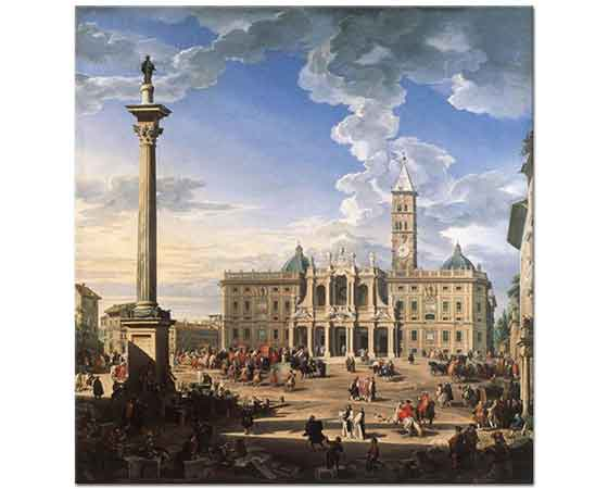 Giovanni Paolo Pannini Santa Maria Maggiore Kilisesi