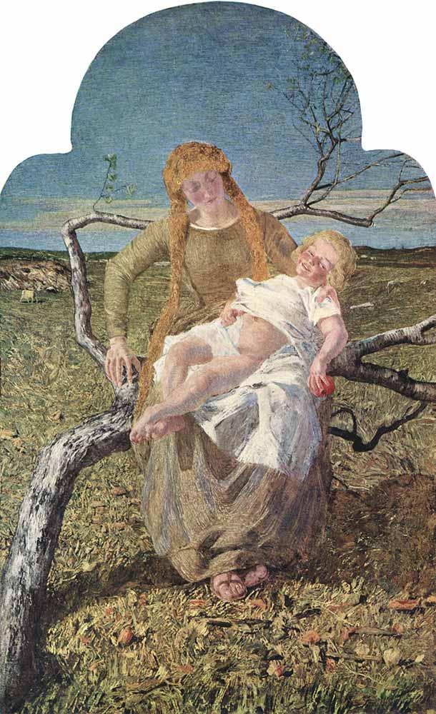 Giovanni Segantini Aşk Meyvesi