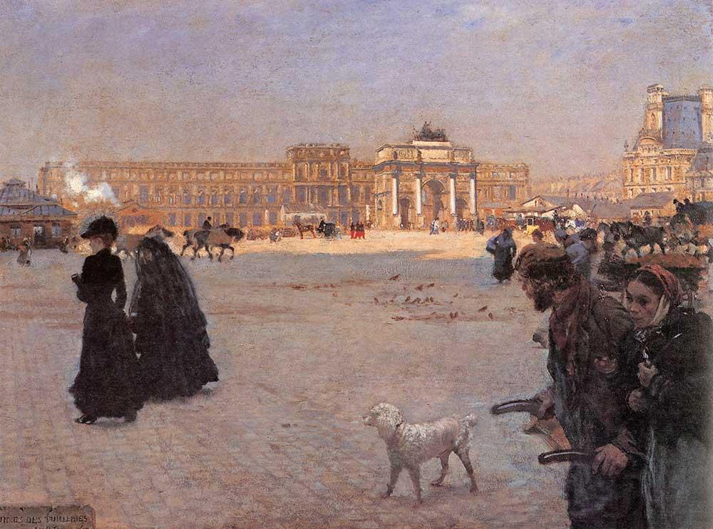 Giuseppe de Nittis Carrousel Sarayı