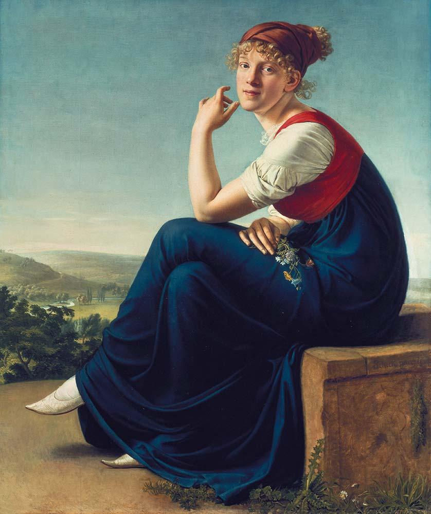 Gottlieb Schick Portre Heinrike Dannecker