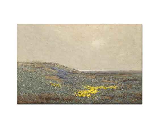 Granville Redmond Sahilde Yaban Çiçekleri