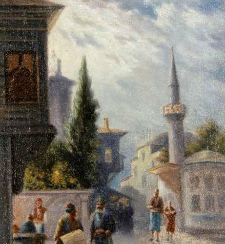 Halid Naci Eski Istanbul Sokağı