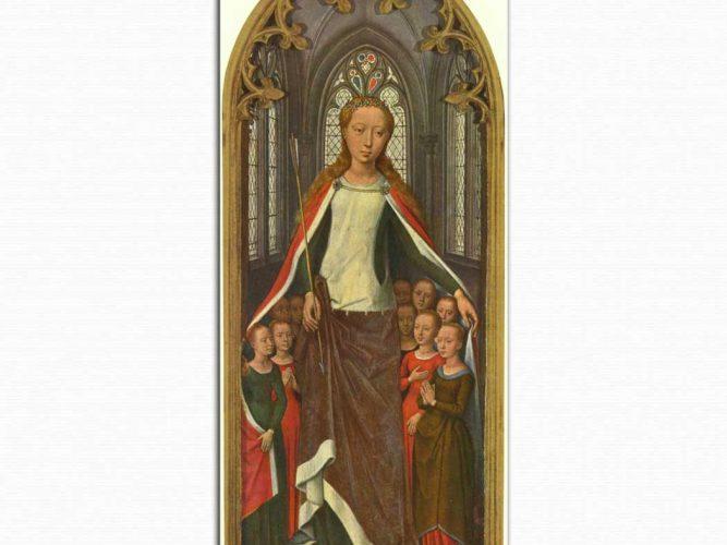 Hans Memling Kutsal Ana