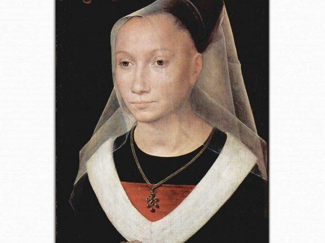 Hans Memling Maria Morel'in Portresi