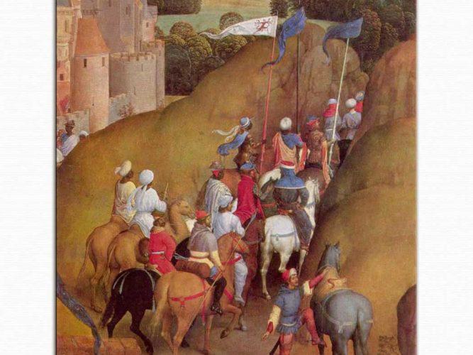 Hans Memling üç Aziz Kral