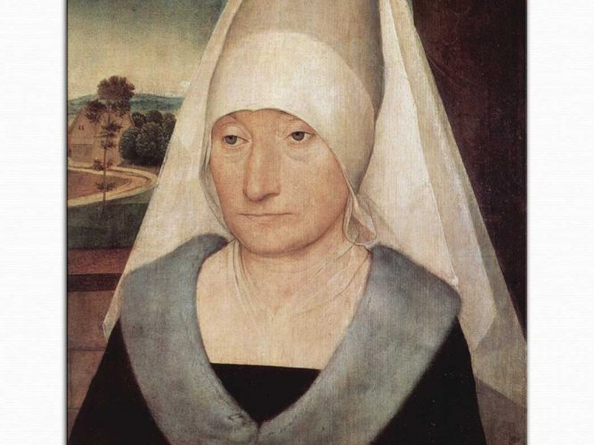 Hans Memling Yaşlı Kadın Portresi