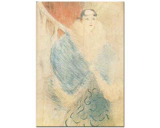 Henri de Toulouse Lautrec Aktris Elsa