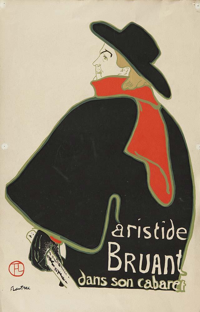 Henri de Toulouse Lautrec Aristide Bruant'ın Kabare Afişi