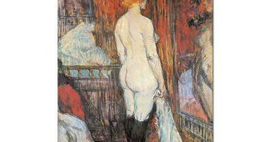 Henri de Toulouse Lautrec Ayna Karşısında
