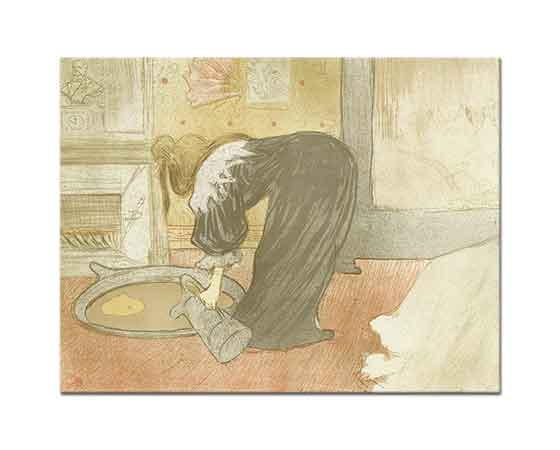 Henri de Toulouse Lautrec Banyo Hazırlığı