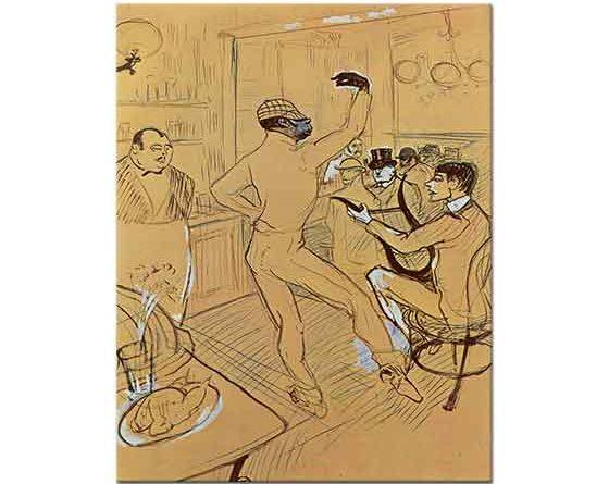 Henri de Toulouse Lautrec Çikolata Dansı