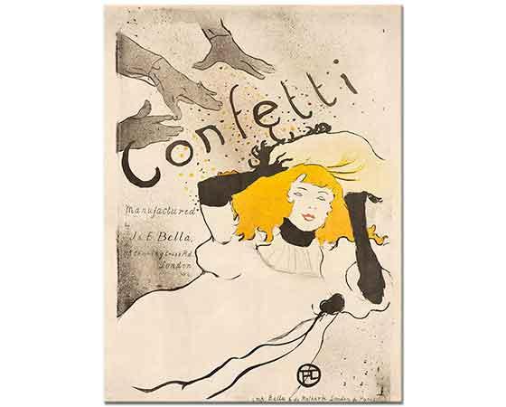 Henri de Toulouse Lautrec Confetti