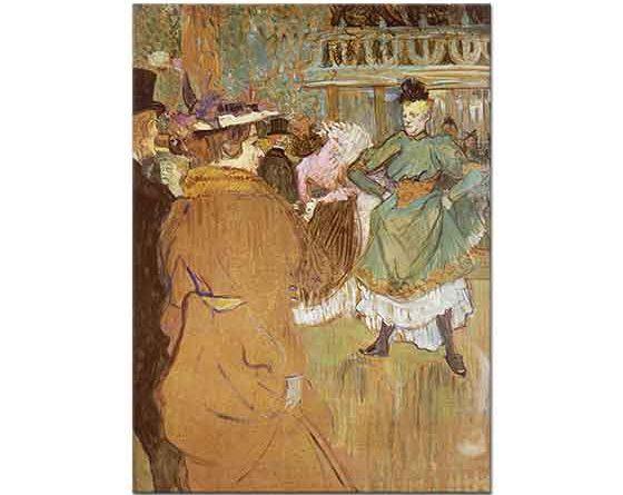 Henri de Toulouse Lautrec Dans Hazırlığı