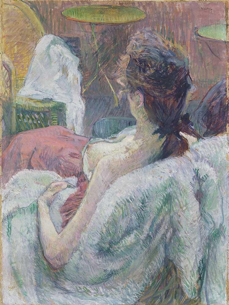 Henri de Toulouse Lautrec Dinlenen Model
