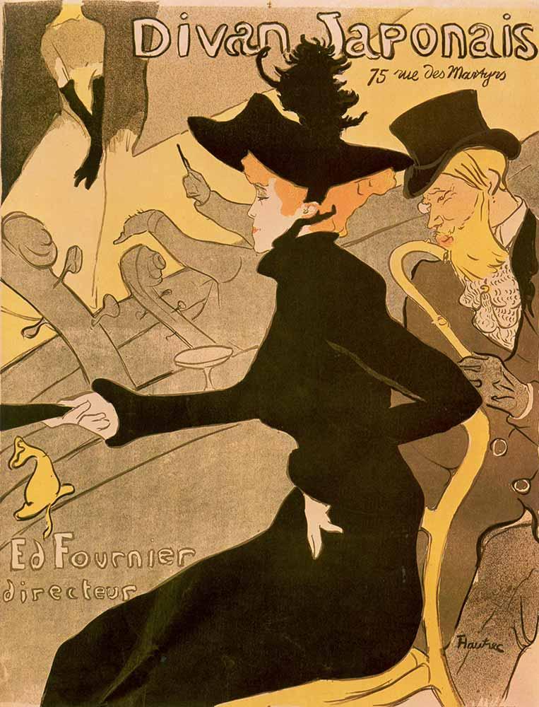 Henri de Toulouse Lautrec Divan Japonais