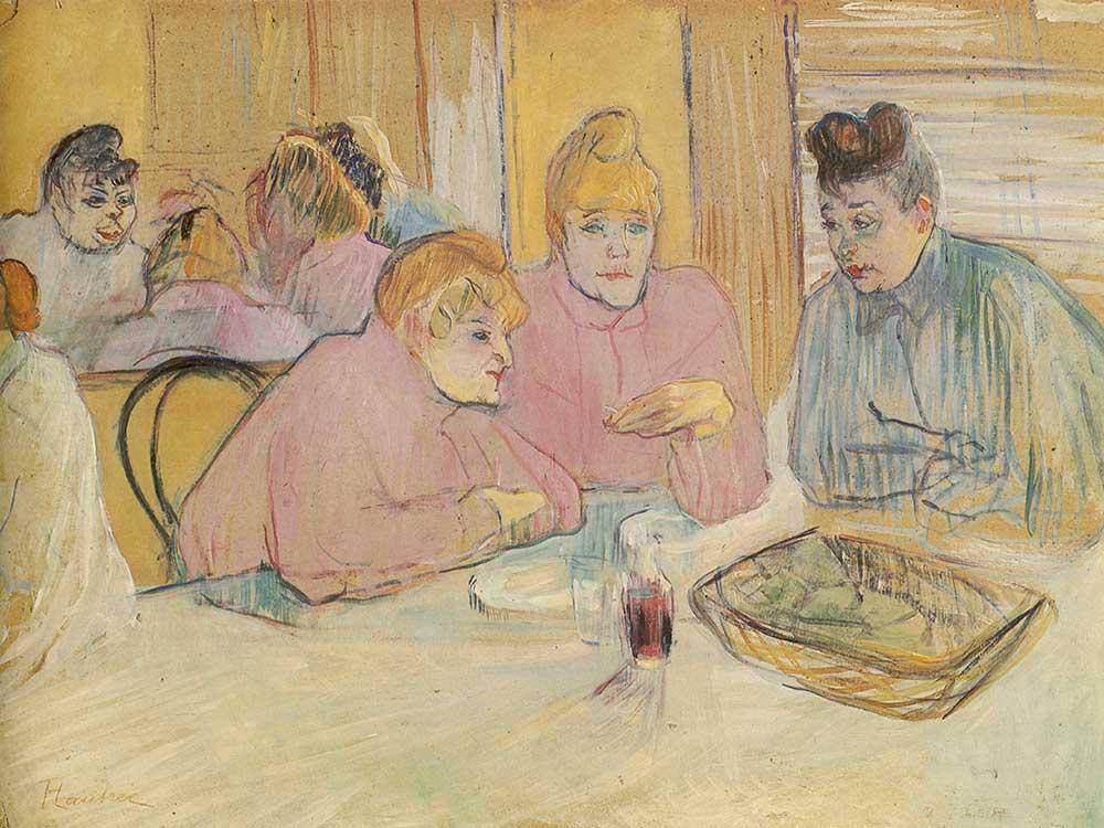 Henri de Toulouse Lautrec Genelevde Kadınlar