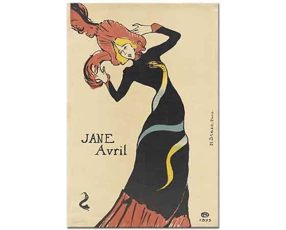 Henri de Toulouse Lautrec Jane Avril