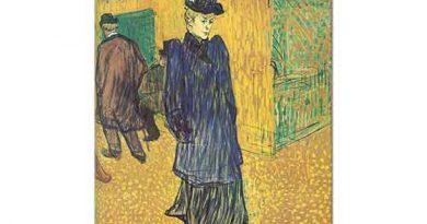 Henri de Toulouse Lautrec Jane Avril Yürüyüşte