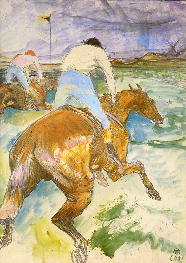 Henri de Toulouse Lautrec Jokey