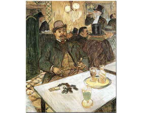 Henri de Toulouse Lautrec Mösyö Boileau