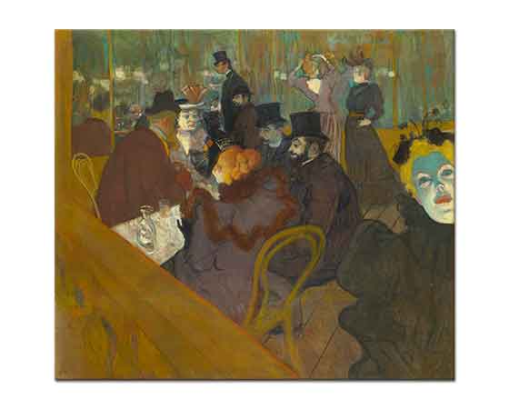 Henri de Toulouse Lautrec Moulin Rouge