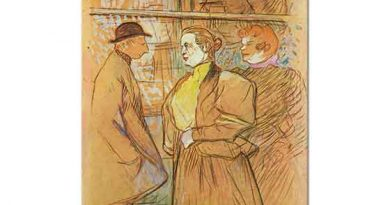 Henri de Toulouse Lautrec Moulin Rouge Girişinde