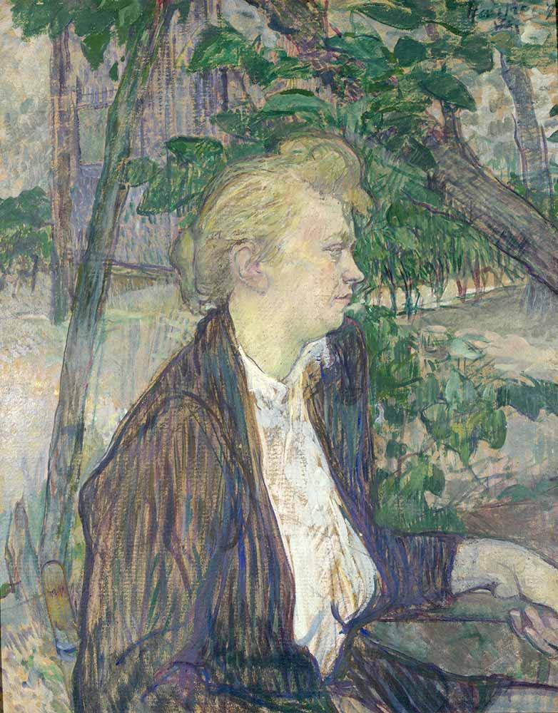 Henri de Toulouse Lautrec Oturan Kadın Portresi