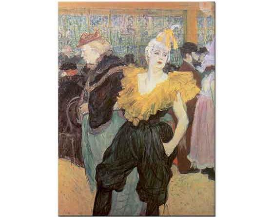 Henri de Toulouse Lautrec Palyaço Cha u Kao