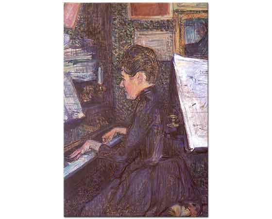 Henri de Toulouse Lautrec Piyanoda