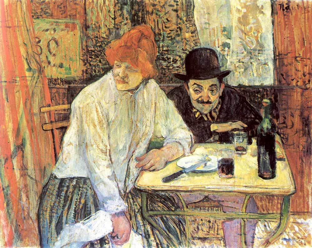 Henri de Toulouse Lautrec Restaurant La Mie
