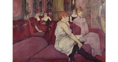 Henri de Toulouse Lautrec Rue des Moulins