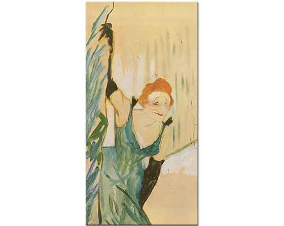 Henri de Toulouse Lautrec Sahneye Bakış