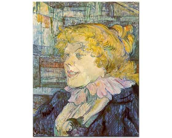 Henri de Toulouse Lautrec Star Cafe'de Ingiliz Kızı