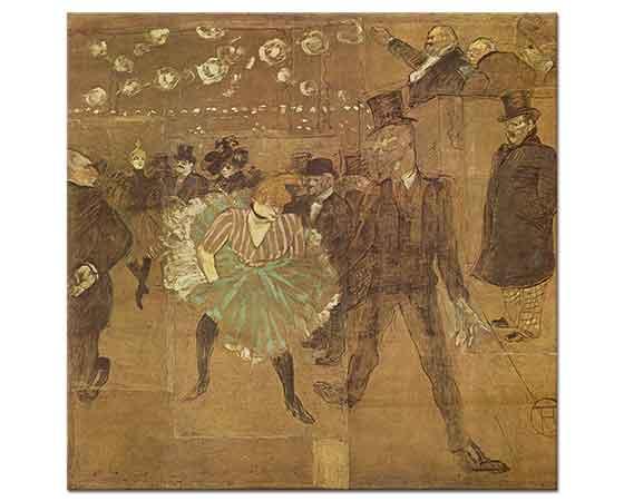 Henri de Toulouse Lautrec Valentin le Desosse ile Dans