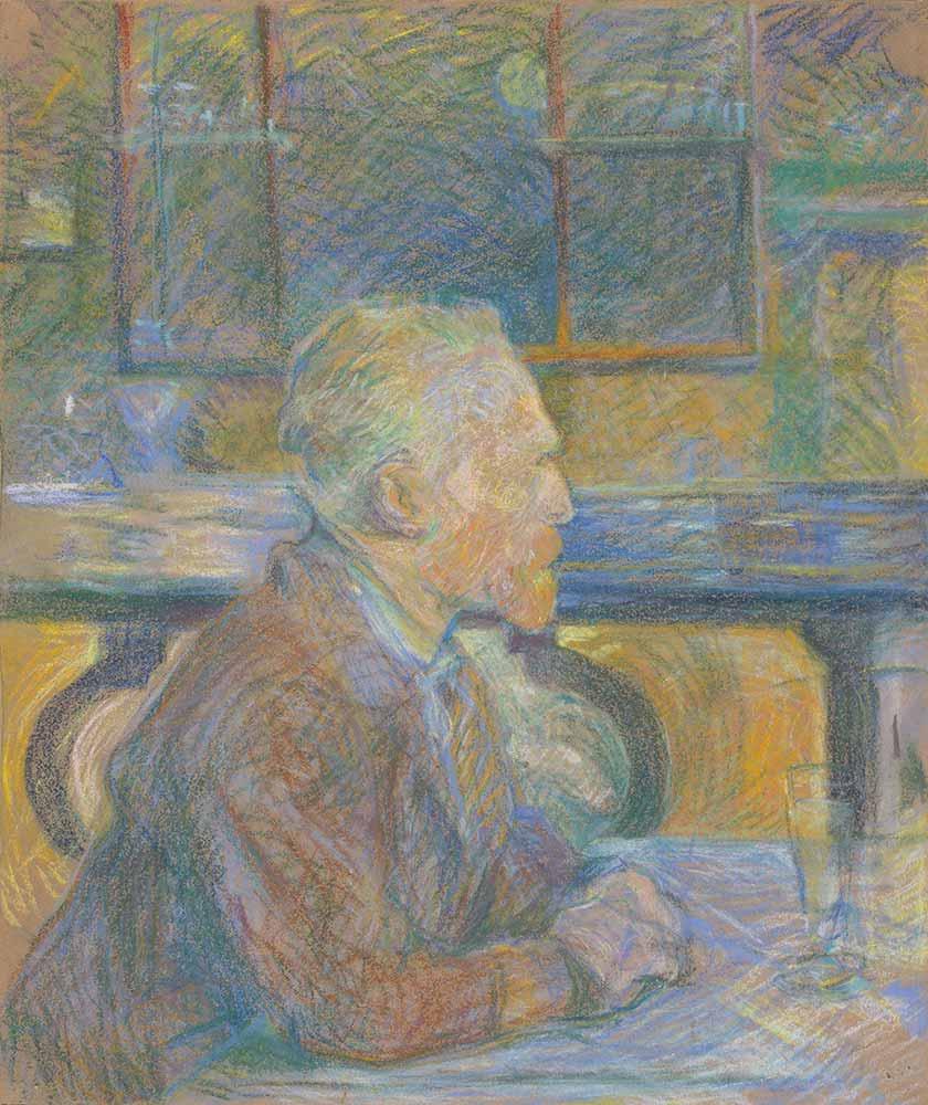Henri de Toulouse Lautrec Van Gogh Portresi