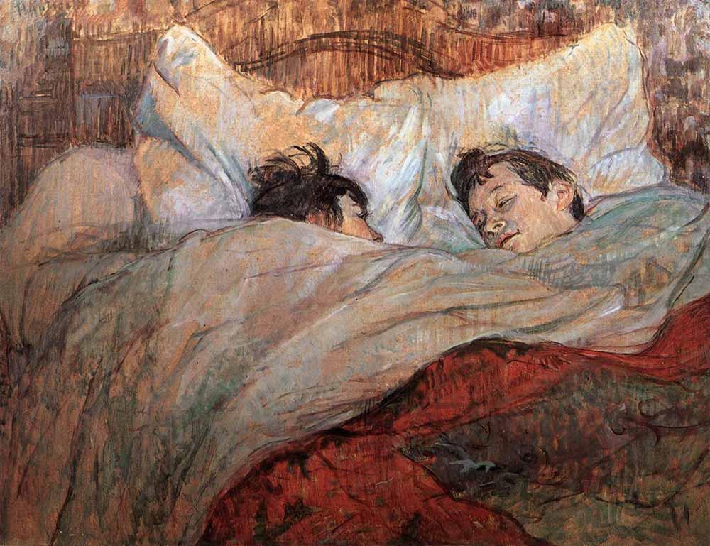 Henri de Toulouse Lautrec Yatakta