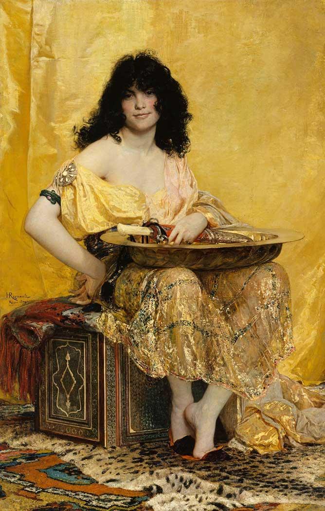 Henri Regnault Salome