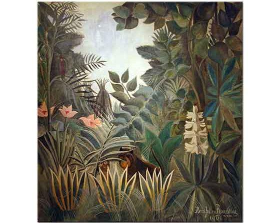 Henri Rousseau Ekvator Ormanları