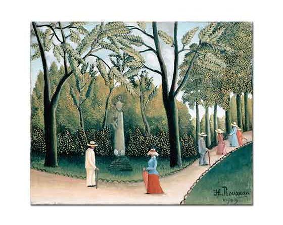 Henri Rousseau Lüxemburg Bahçesi