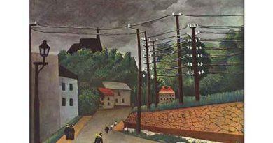 Henri Rousseau Malakoff Manzarası