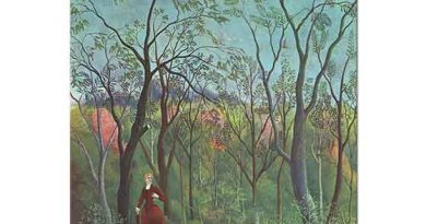 Henri Rousseau Orman Kenarında