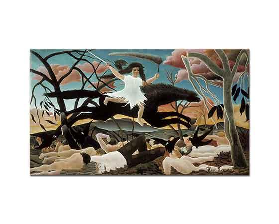 Henri Rousseau Savaş