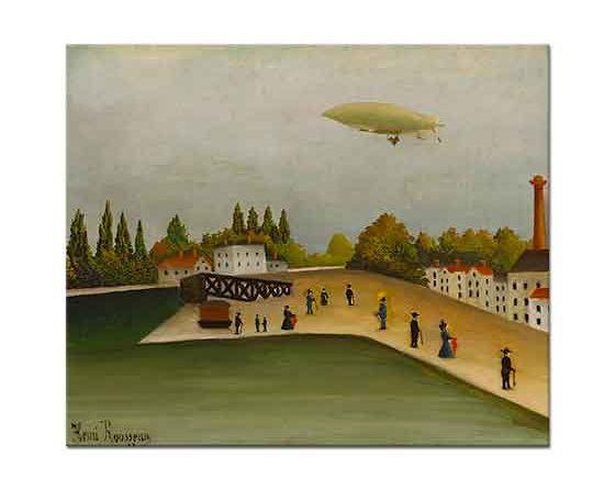 Henri Rousseau Şehir Semaları