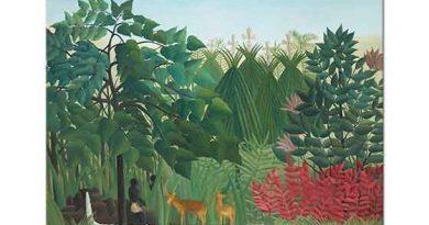 Henri Rousseau Şelale
